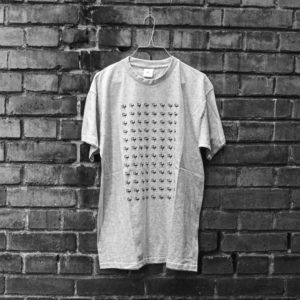 Rough Logo Shirt Grey