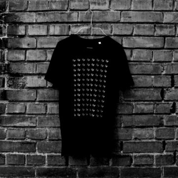 Rough Logo Shirt Black