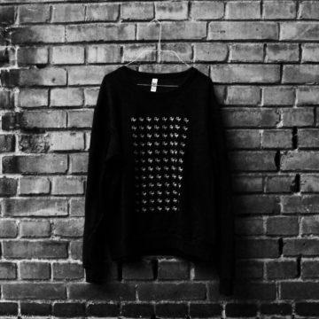 Rough Logo Sweater